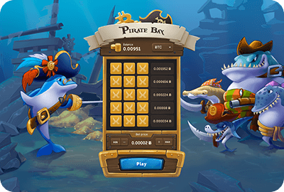 Pirate Bay: play and win